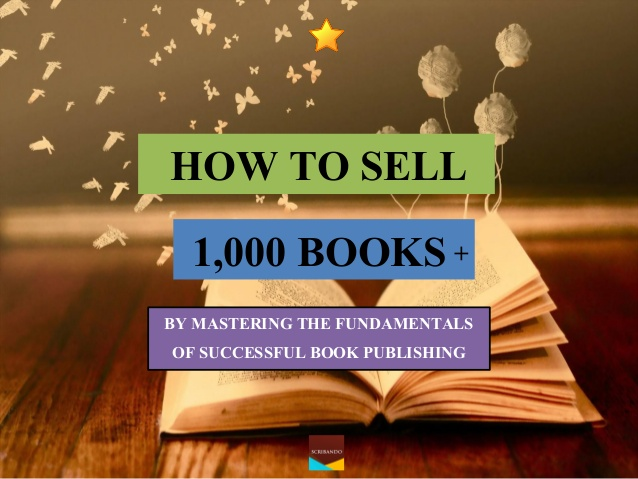 How to sell your first 1000 books