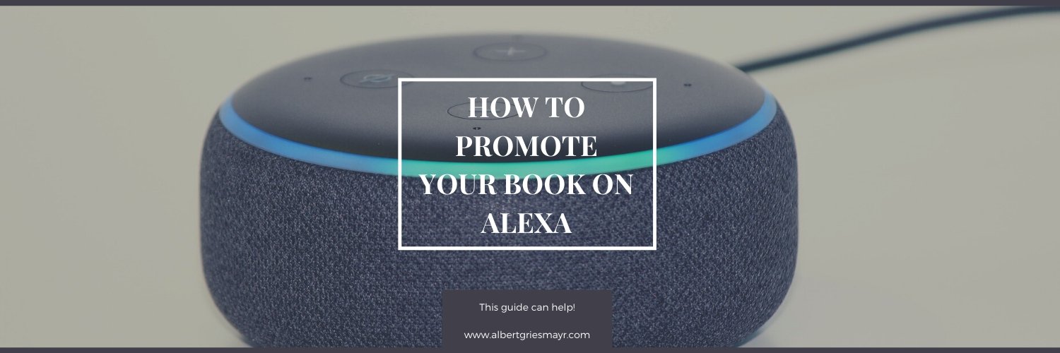 promote books on Alexa
